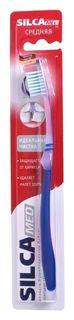 Зубная щетка идеальная чистка средней жесткости SilcaMed  SILCA