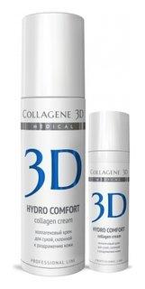 Крем для лица Hydro Comfort с аллантоином, для раздраженной и сухой кожи  Medical Collagene 3D
