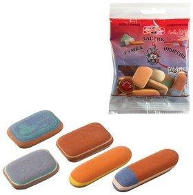 Набор ластиков Koh-i-noor 9 шт., цвет и форма ассорти, натуральный каучук  Koh-i-noor