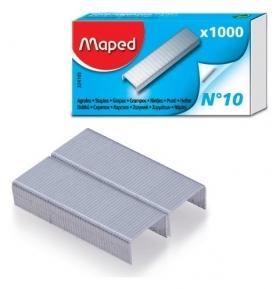 Скобы для степлера №10, 1000 штук, Maped, до 20 листов  Maped