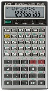 Калькулятор инженерный двухстрочный Staff Stf-169 (143х78 мм), 242 функции, 10+2 разрядов  Staff