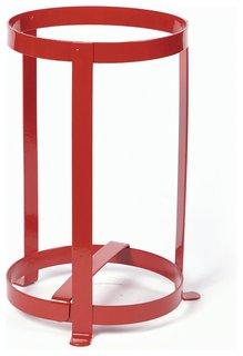 Подставка под огнетушитель универсальная, каркасная, для ОУ-2, ОУ-3, красная   Ярпожинвест