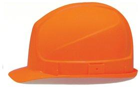 Каска защитная UVEX Супер босс, ленточный механизм регулировки, пластиковое оголовье, оранжевая  Uvex