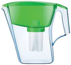 """Кувшин-фильтр для очистки воды АКВАФОР """"Лайн"""", 2,8 л, со сменной кассетой, зеленый   Аквафор"""