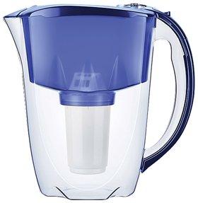 """Кувшин-фильтр для очистки воды АКВАФОР """"Престиж А5"""", 2,8 л, со сменной кассетой, синий   Аквафор"""